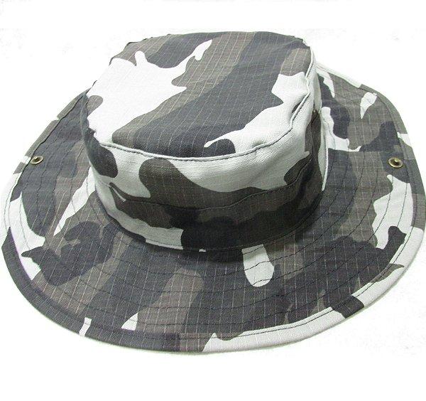 Boonie hat rip stop urbano black