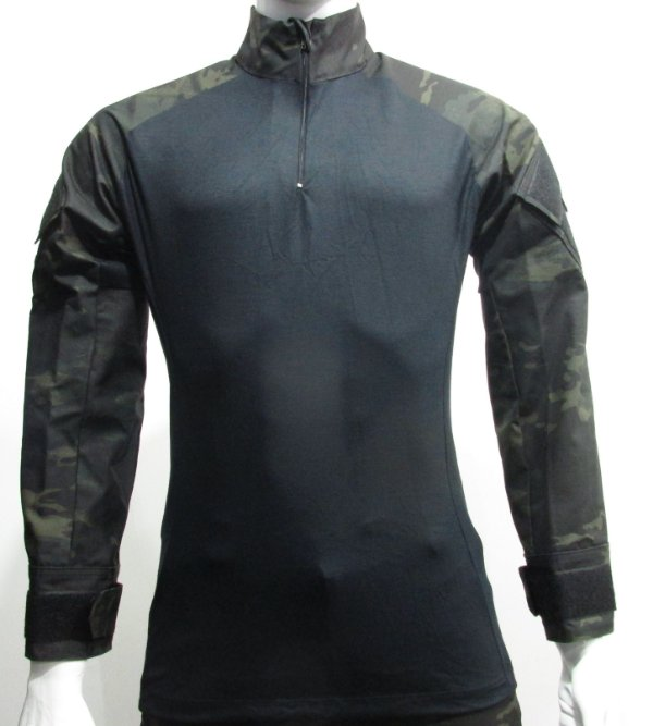 Combat t-shirt multicam black