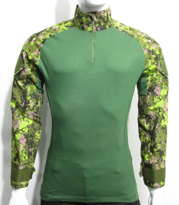 Combat t-shirt cadpat canadense
