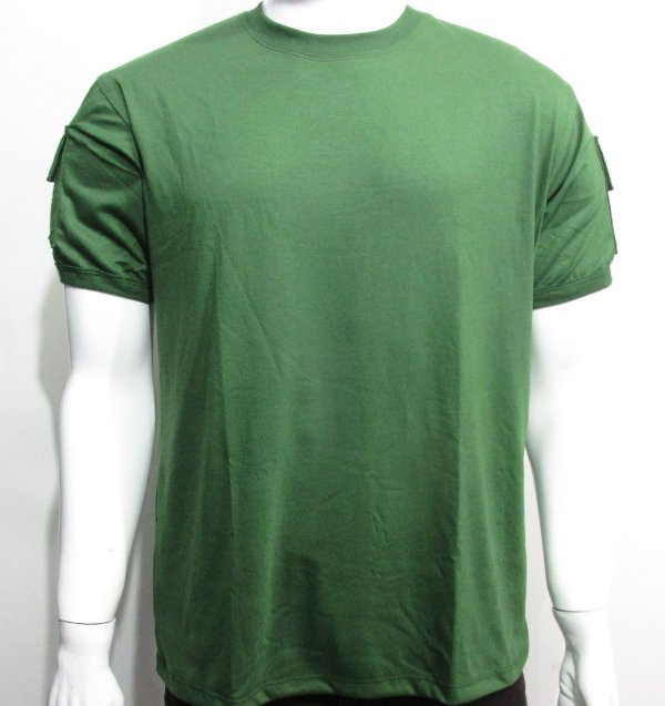 Camiseta t shirt  verde militar bolsos tático