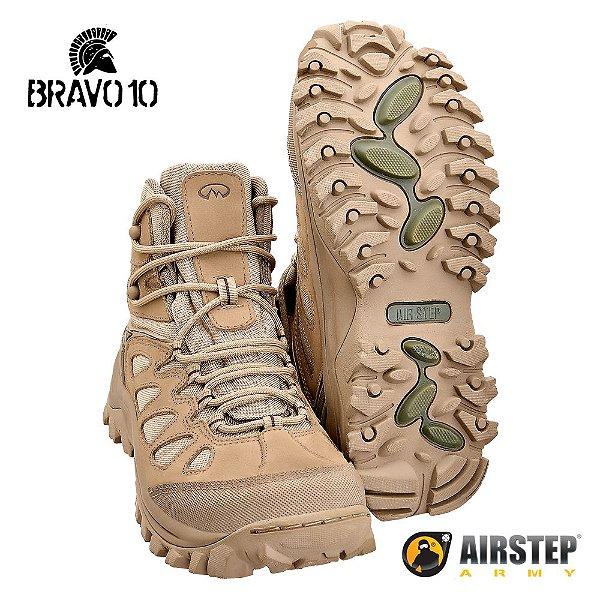 Bota Coturno Hiking Boot Bravo10 TAN 5700 - 25