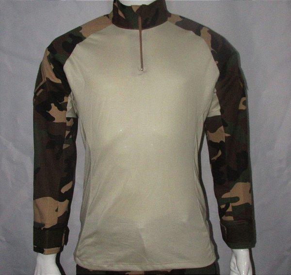 Combat t-shirt woodland frances
