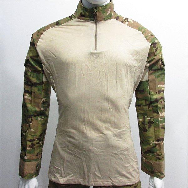 Combat t-shirt multicam tradicional