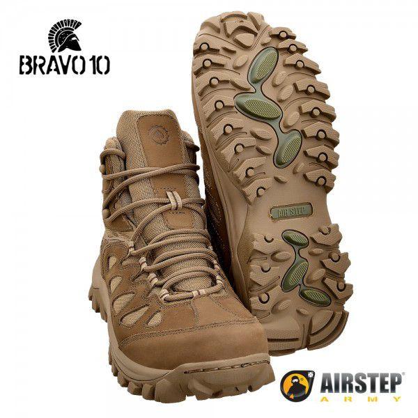 Bota Coturno Hiking Boot Bravo10 Coyote 5700-35