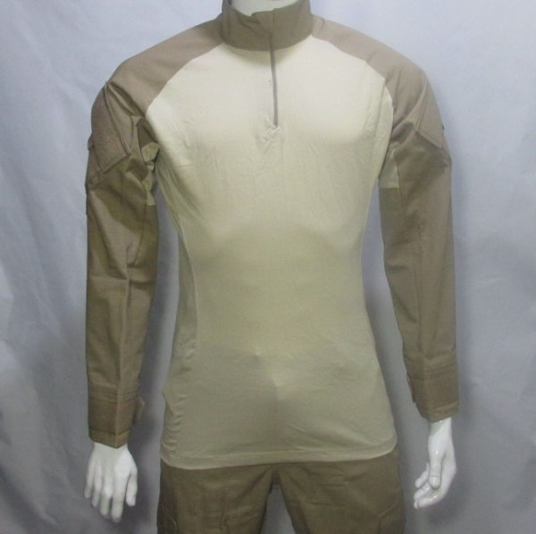 Combat t-shirt Caqui