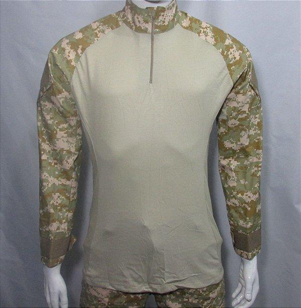 Combat t-shirt Digital Cammo 05