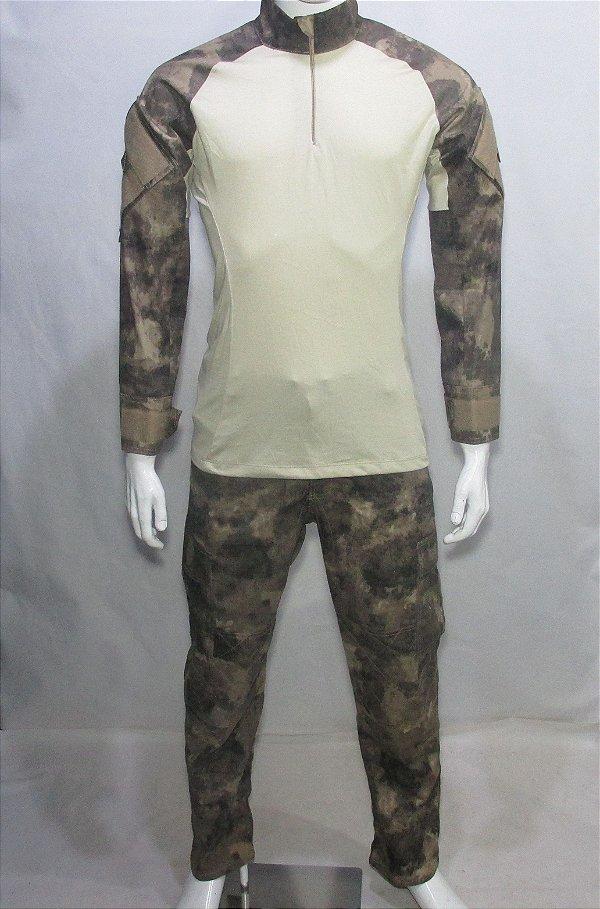 Calça e Combat t-shirt ATKS AU