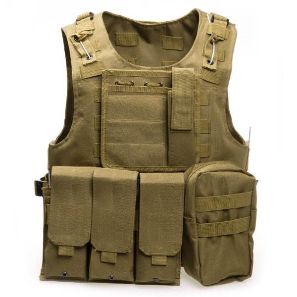 Colete Modular Coyote molle