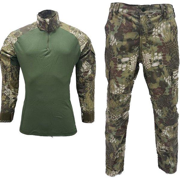 Farda combat shirt mandrake verde