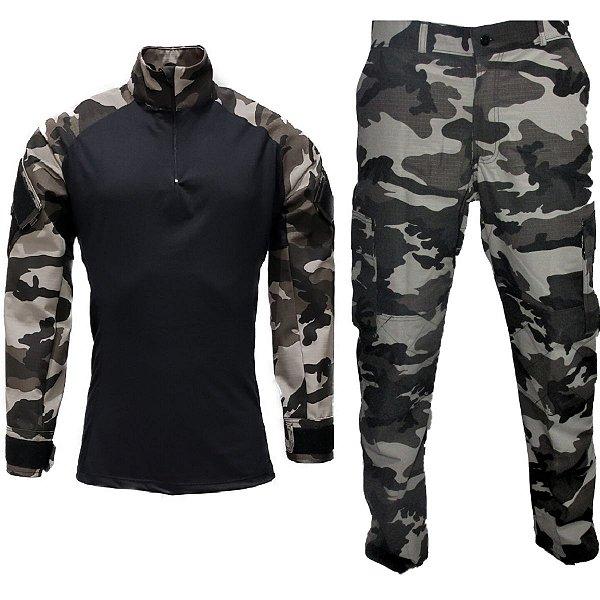 Farda combat shirt Urbano Black Bravo21