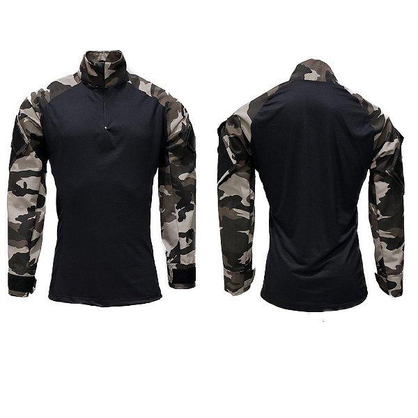 Combat shirt Urbano black