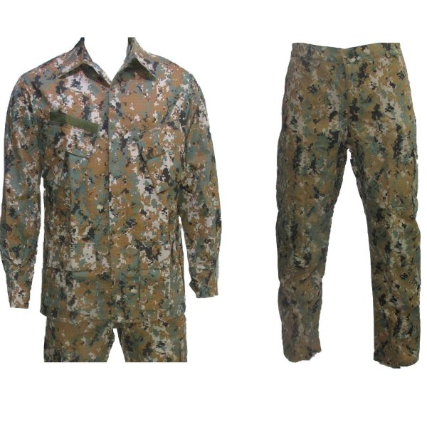 Farda marpat digital orange Rip stop Reforçado