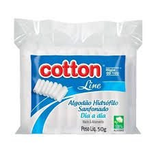 ALGODÃO HIDRÓFILO SANFONADO  DIA A DIA  COTTON 25G