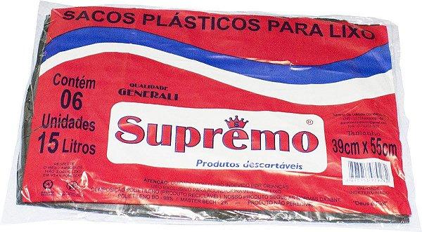 SACO DE LIXO SUPREMO 15L