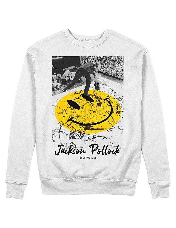 Moletom Jackson Pollock Smile