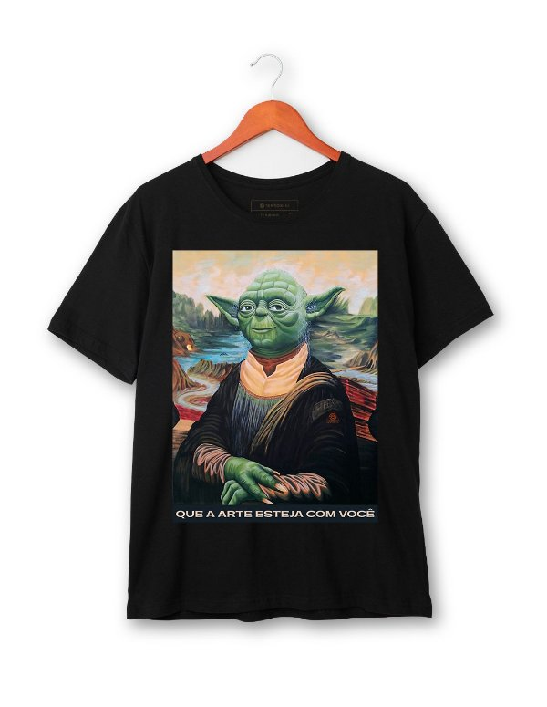 Camiseta Yoda Lisa