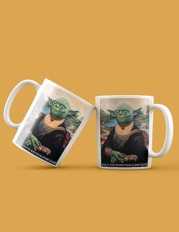 Caneca Yoda Lisa