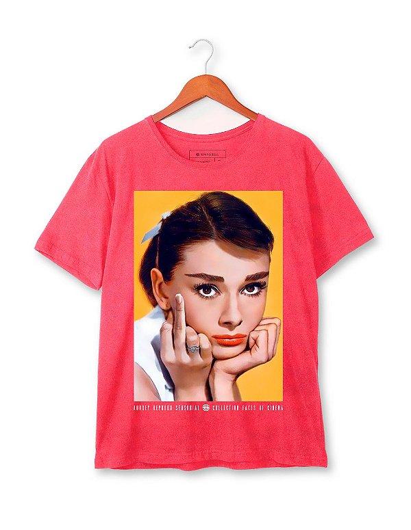 Camiseta Audrey Hepburn Estonada