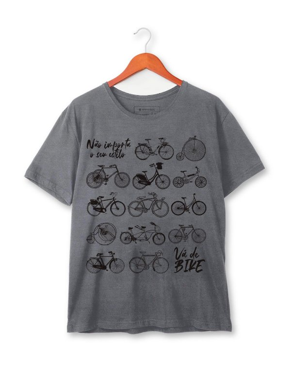 Camiseta Vá de Bike Estonada
