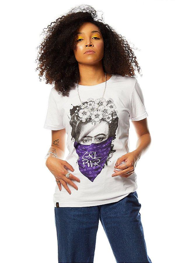 Baby Look Frida Kahlo GRL PWR