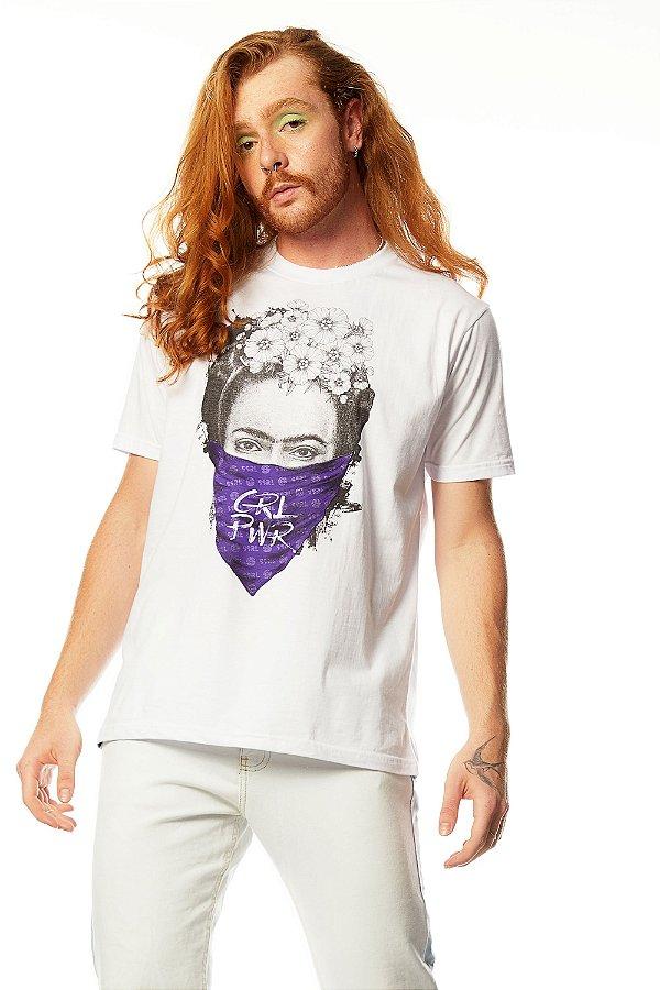 Camiseta Frida Kahlo GRL PWR