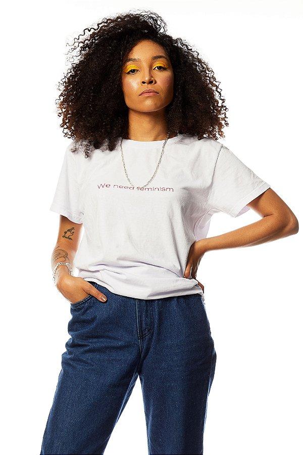 Camiseta We need feminism