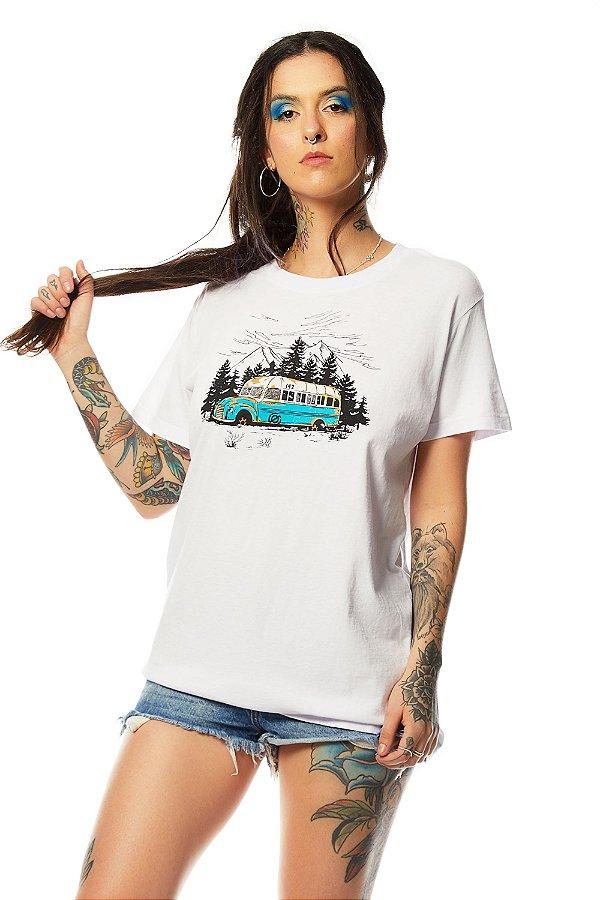 Camiseta Na Natureza Selvagem