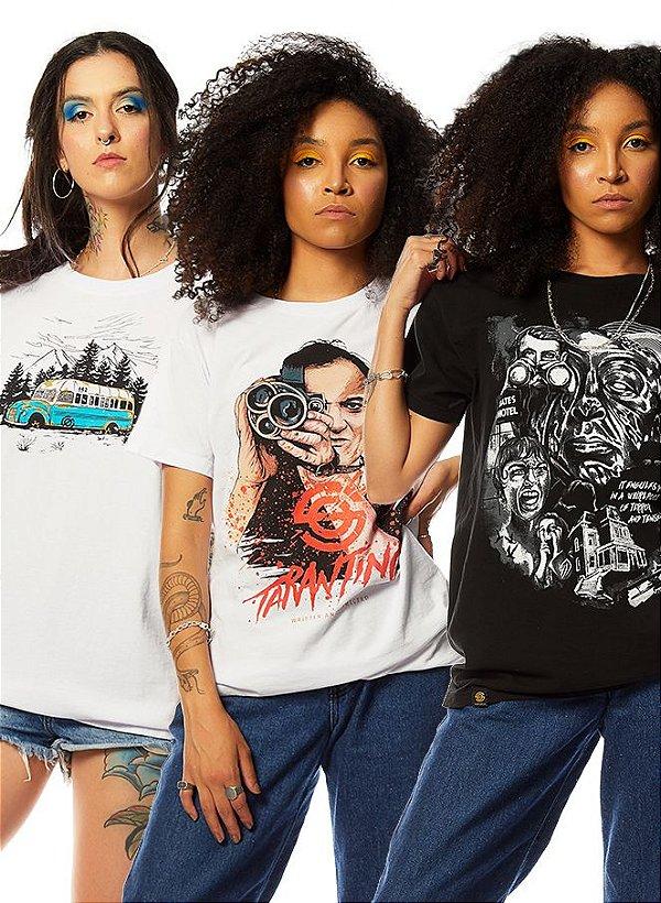 Kit 3 Camisetas de Filmes