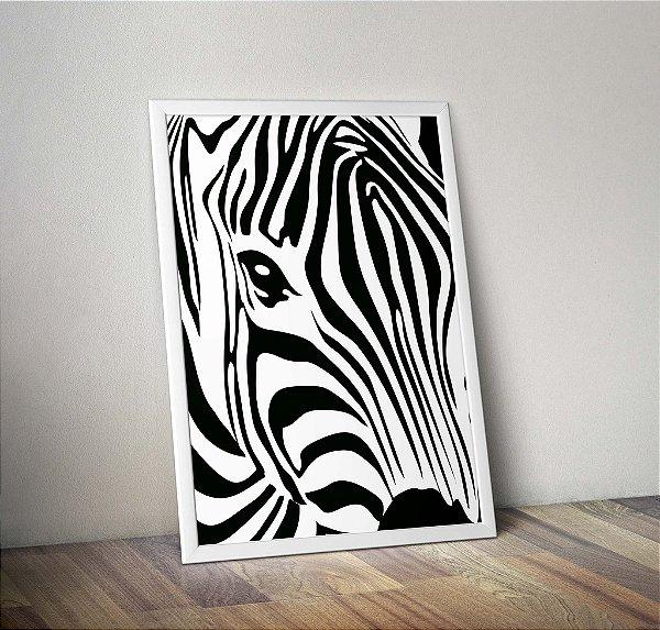 Pôster Zebra PB
