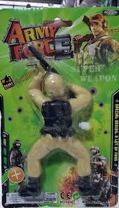 BONECO ARMY FORCE A CORDA 668656