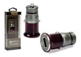 CARREGADOR  VEICULAR 1 USB TURBO + CABO V8 1M  SH-304Q SHINKA