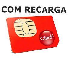 CHIP CLARO COM RECARGA DDD22