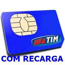 CHIP TIM COM RECARGA DDD22