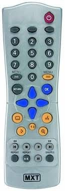 CONTROLE DVD PHILIPS MXT RC283207
