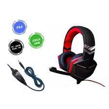 Fone Ouvido Headset Feir Gamer Pc Note Ps3 Xbox Fr-510 USB Azul