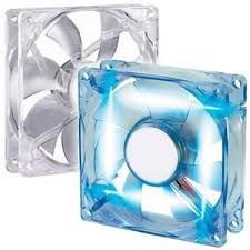 COOLER FAN 120MM LED AZUL