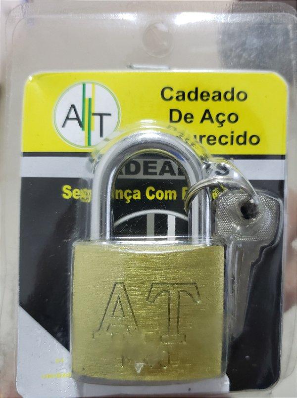 CADEADO C/3 CHAVES AT 40