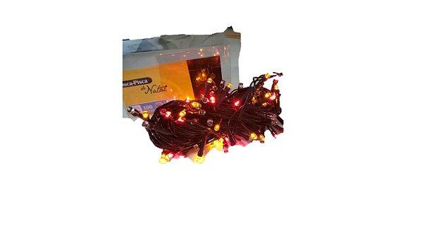NATAL PISCA LED 100LAMP 8F 9M CORES NTL7100C/2100C