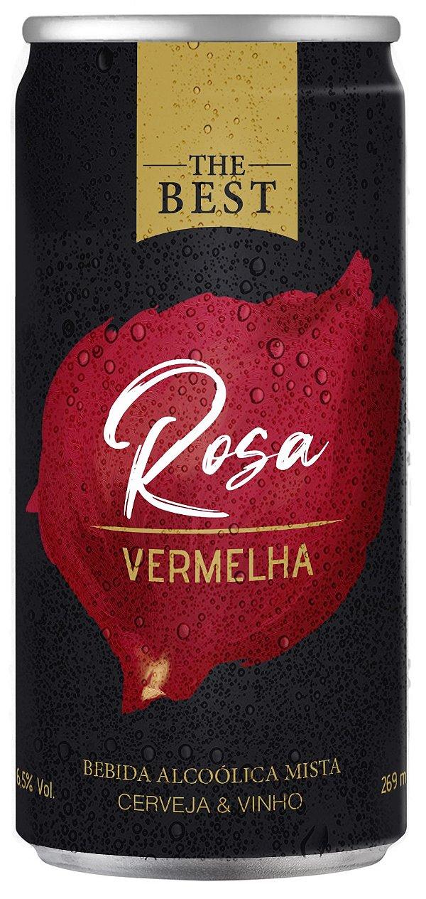 The Best Rosa Vermelha - Cerveja & Vinho - 1 Lata 269ml