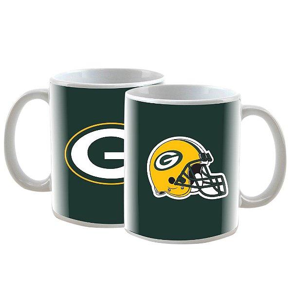 Caneca Personalizada Green Bay Packers Verde 325mL