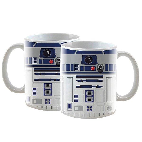 Caneca Personalizada Star Wars Especial R2D2 325mL