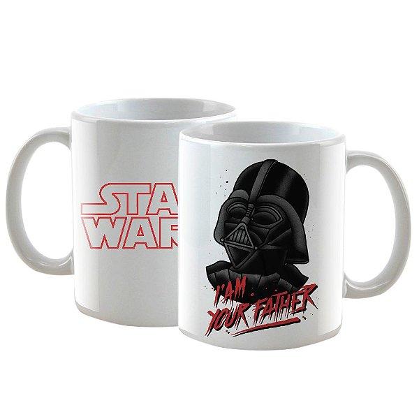 Caneca Personalizada Star Wars Darth Vader 325mL