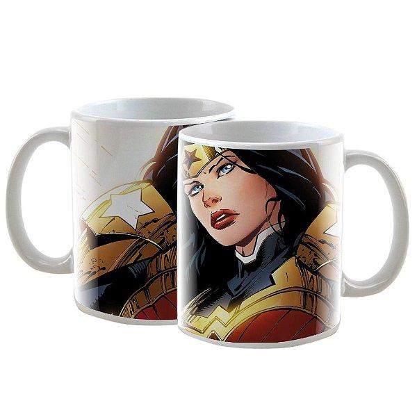 Caneca Personalizada Mulher Maravilha DC Universe 325mL