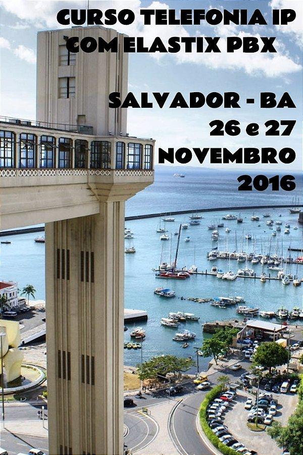 Curso Telefonia IP com Elastix PBX em Salvador-BA  26 E 27 Novembro 2016