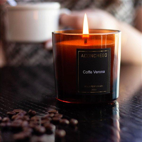 Vela Perfumada Coffe Verona