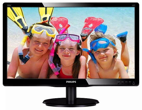 Monitor Philips 20'' 200V4L Widescreen - R$ 319,00