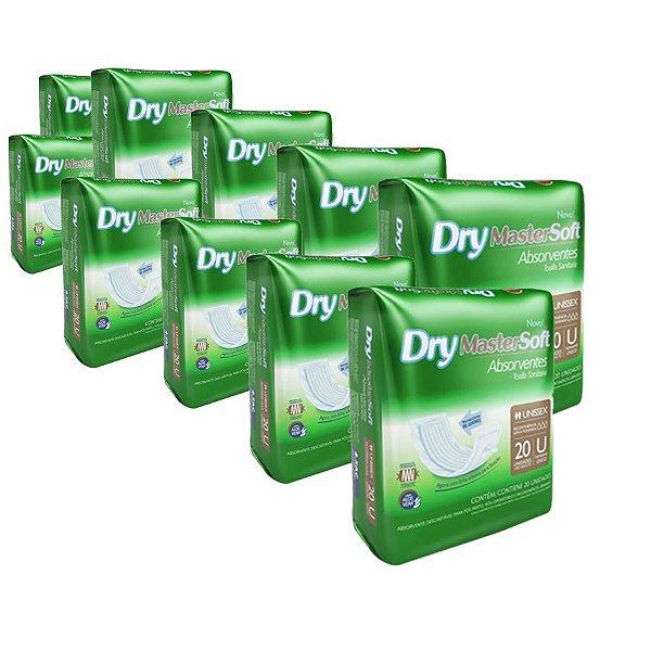 Absorvente Dry MasterSoft (Kit com 200 Unidades)