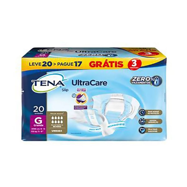 Fralda Geriátrica Tena Slip Ultra G 20 unidades