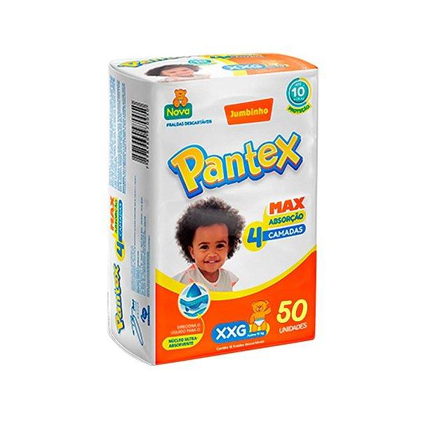 Fralda Infantil Pantex Hiper XXG 50 unidades