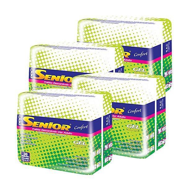 Fralda Geriátrica Pro Senior Mega G (Kit com 120 unidades)